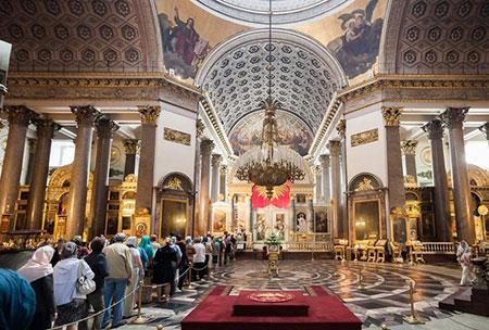 کلیسای کازان در روسیه,تاریخچه کلیسای کازان,کلیسای کازان در مسکو