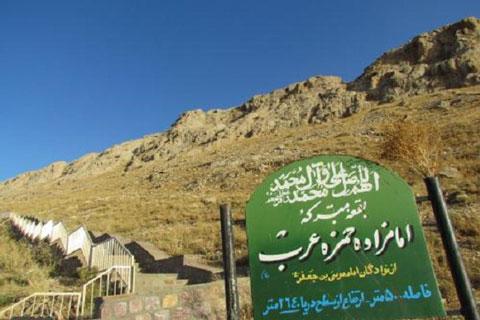 امامزاده حمزه عرب,دیدنی های بیجار,جاذبه های تاریخی ایران