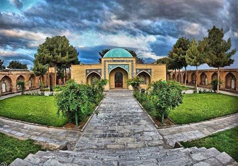 آرامگاه اسرار,آرامگاه حاج ملا هادی سبزواری,مکانهای دیدنی سبزوار