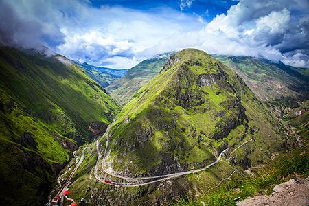 دیدنی های اکوادور,جاذبه های گردشگری اکوادور,جاذبه های دیدنی اکوادور
