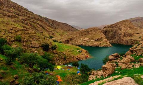 دشت سوسن,دشت سوسن ایذه,جاذبه های طبیعی خوزستان
