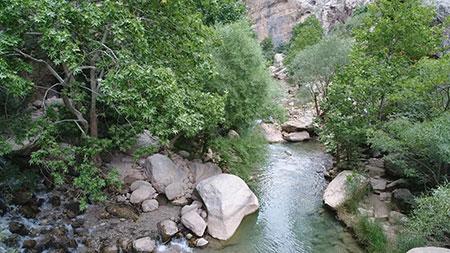 چشمه ناز یکی از بکرترین تفرجگاه های شهرستان سمیرم