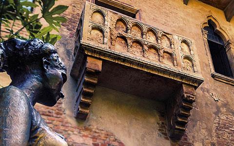 خانه ژولیت,خانه عشق,ایتالیا