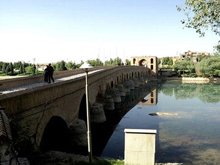 پل شهرستان,تاریخچه پل شهرستان,پل شهرستان اصفهان