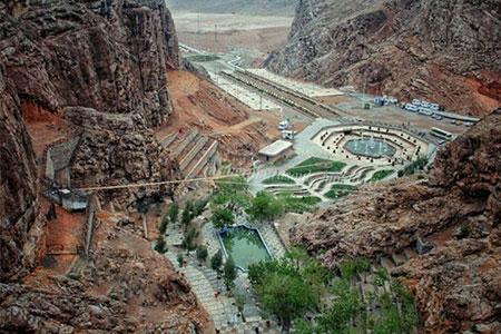 چشمه لادر یکی از جاذبه های دیدنی خمینی شهر اصفهان