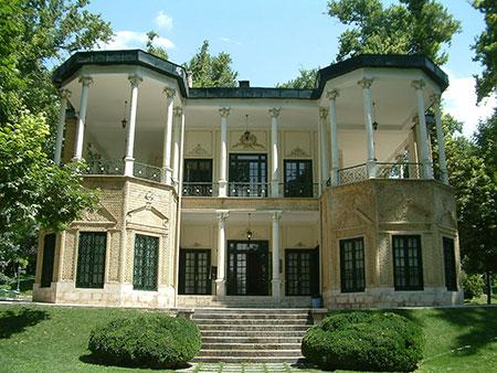 کوشک احمدشاهی نماد معماری قاجاری