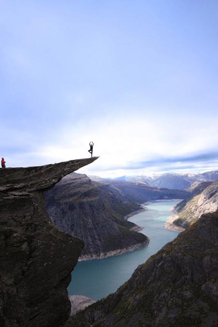 ترول تونگا,ترول تونگا نروژ,ترول تونگا از جاذبه های دیدنی نروژ