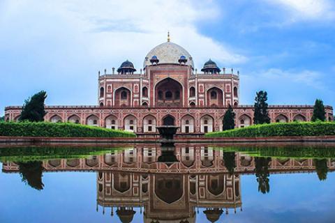 آرامگاه همایون، از معروفترین بناهای تاریخی هند (+تصاویر)