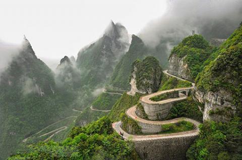 پارک ژانگ جیاجی، هیجان انگیزترین جاذبه های گردشگری چین