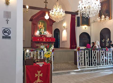 کلیسای سورپ گئورک قدیمی ترین کلیسای تهران