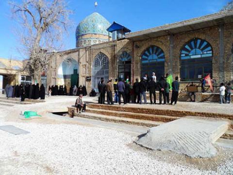 معرفی امامزاده احمدرضا در اصفهان