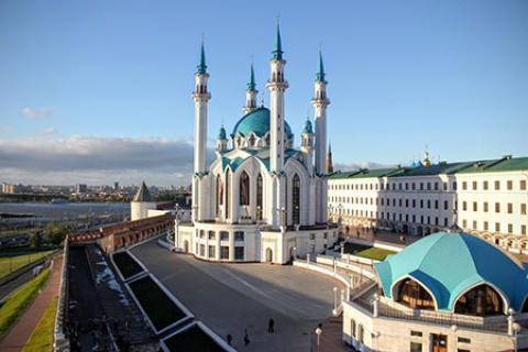 مسجد کول شریف بزرگ ترين مسجد روسیه