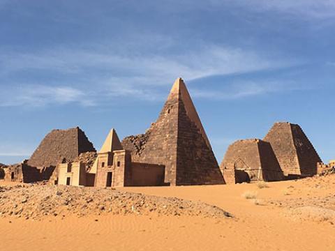 شهر باستانی مرویی در سودان (+تصاویر)