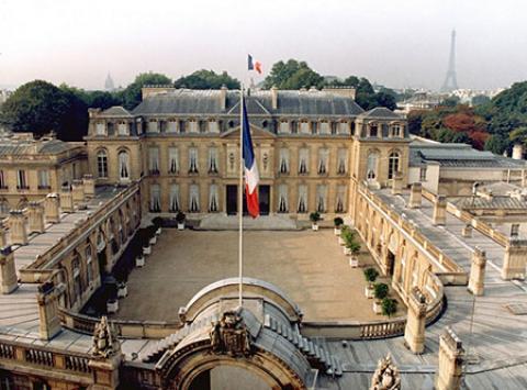 کاخ الیزه پاریس، محل اقامت رئیس جمهور فرانسه