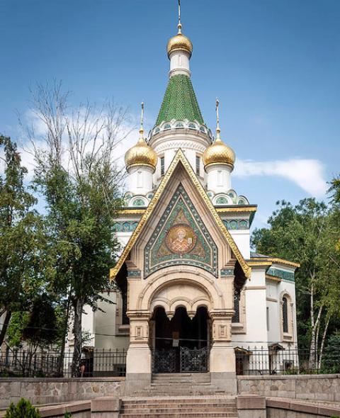 آشنایی با کلیسای روسی در بلغارستان (+تصاویر)
