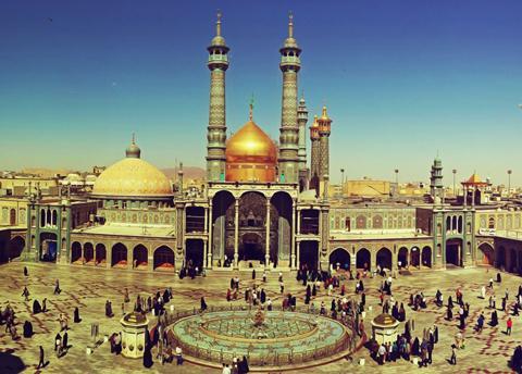 آشنایی با قسمتهای مختلف و معماری آستان مقدس حضرت معصومه