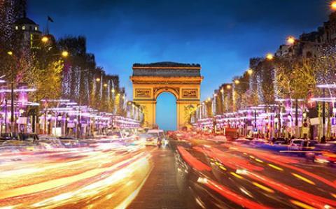 خیابان شانزه لیزه پاریس + عکس