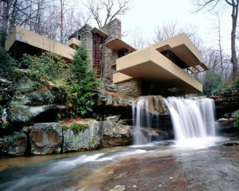 خانه آبشار از برترین آثار معماری قرن بیستم+ تصاویر خانه آبشار، آرامش بخشترین خانه دنیا در پنسیلوانیا