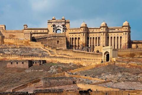 قلعه آمبر، از معروف ترین جاذبه های دیدنی هند (+تصاویر) قلعه آمبر از مکانهای دیدنی جیپور