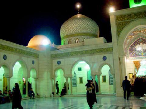 حرم مطهر حضرت رقیه در دمشق